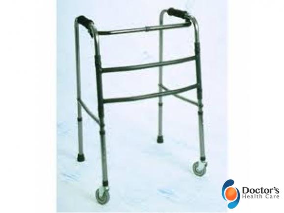 Foto Miniatura Mobilidade Andador Articulado de Alumínio com Rodízio Venda e Locação