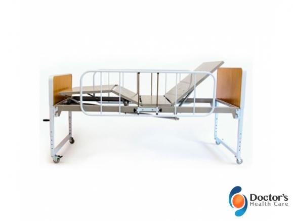 Foto Miniatura Mobilidade Cama Hospitalar Manual 2 Manivelas Venda e Locação