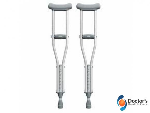 Foto Miniatura Mobilidade Muleta Axilar Infantil Aluminio Venda e Locação