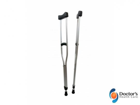 Foto Miniatura Mobilidade Muleta Axilar Ajustável de Alumínio Venda e Locação